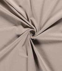 Katoenen tricot zware kwaliteit poederbeige