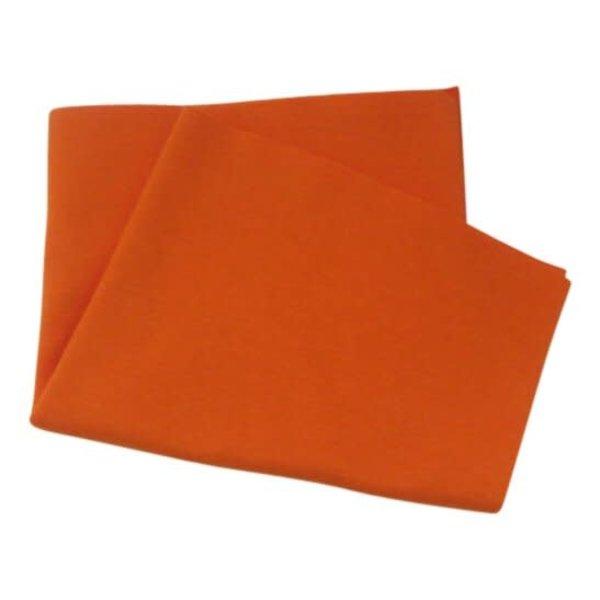 Boordstof de luxe oranje