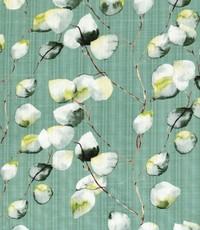 Linnenlook met witte blaadjes mintgroen