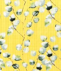 Linnenlook met witte blaadjes op geel