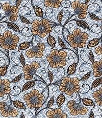 Afrikaanse linnen jeansblauw