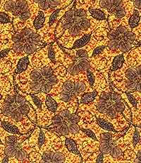 Afrikaanse linnen okergeel