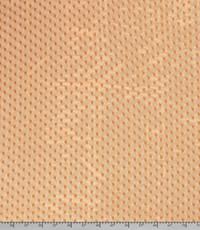 Kanten stof met stipje brique