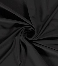 Travel jersey zwart