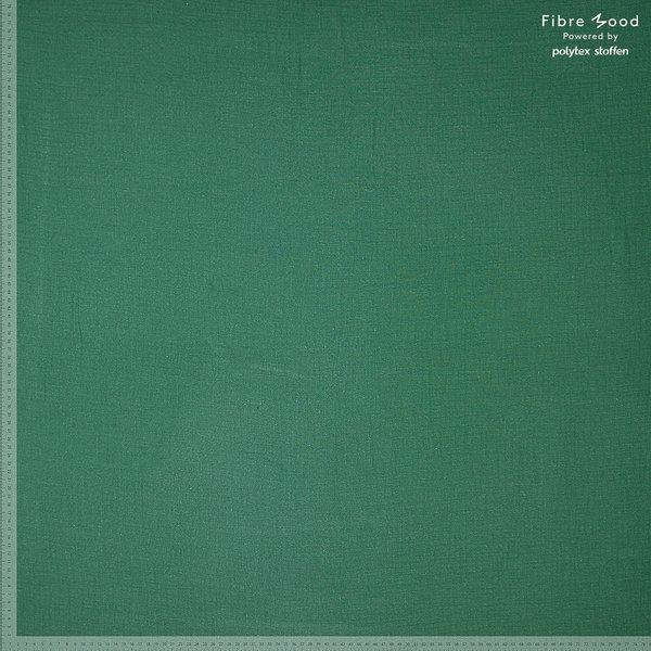 Crinkle katoen pine green