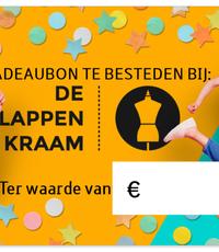 Kadobon ter waarde van 5 euro