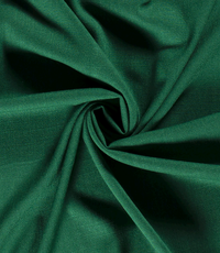 Viscose stof effen fel groen