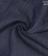 Chambray denim donker blauw