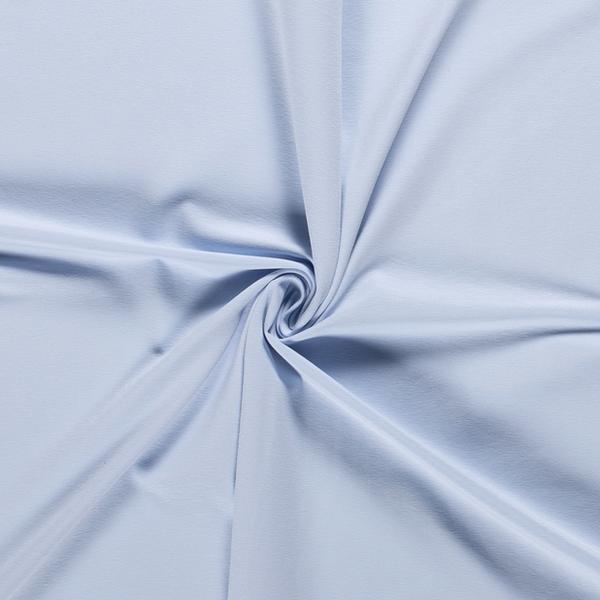 Katoenen tricot zware kwaliteit babyblauw