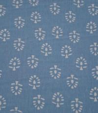 Linnenmix boompjes blauw