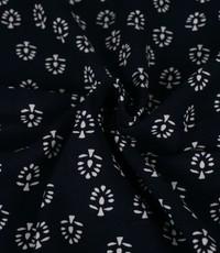 Linnenmix boompjes donkerblauw