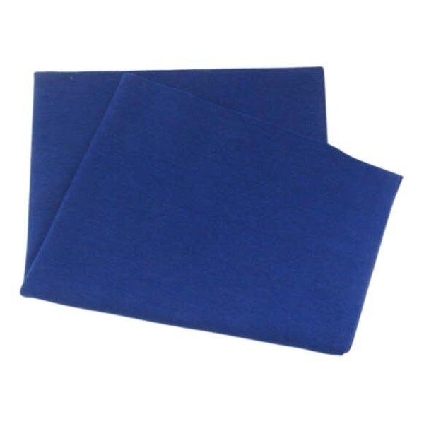 Boordstof de luxe kobaltblauw