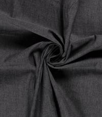 Zwarte denim chambray