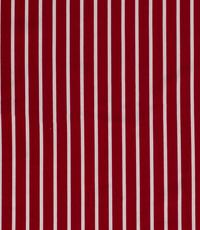 Halflinnen brede wisselstreep rood
