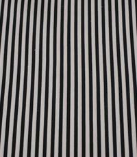 Gestreepte stof zwart wit
