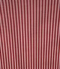 Streepjesstof rood-wit