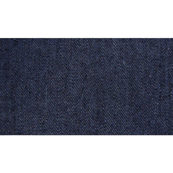 Chambray denim donker jeansblauw