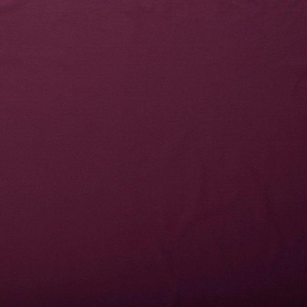 Katoenen tricot zware kwaliteit bordeauxrood