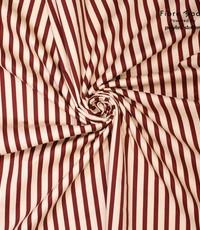 Gestreepte katoen rood-wit