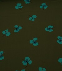 Katoen met kleine bloemetjes