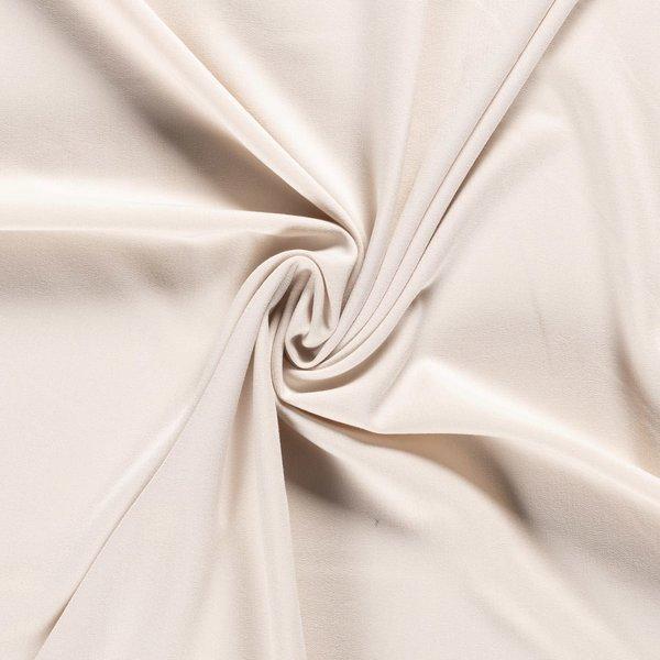 Gabardine stof met stretch ecru