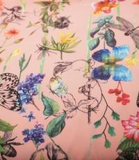 Crepe vlinders roze