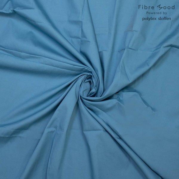 Katoenen stof blauwgroen