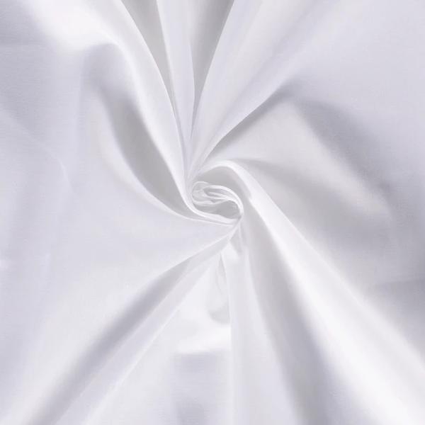 Batist stof wit