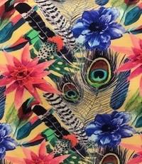 Tricot tropisch dessin