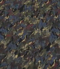 Chiffon met camouflage