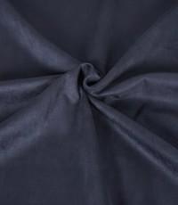 Scuba suede donkerblauw