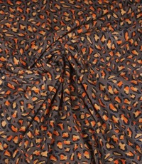 Tricot kleine tijger olijfgroen