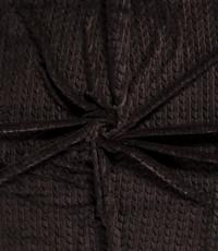 Bont met V-vorm zwart