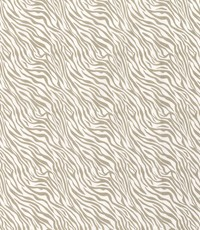 Popeline beige zebradessin
