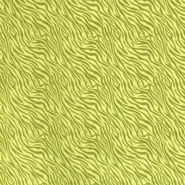 Popeline stof groen met zebradessin