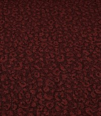 Gebreide tricot tijgervlek rood