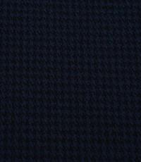 Jacquard jersey donkerblauw
