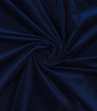 Ribfluweel stretch marineblauw