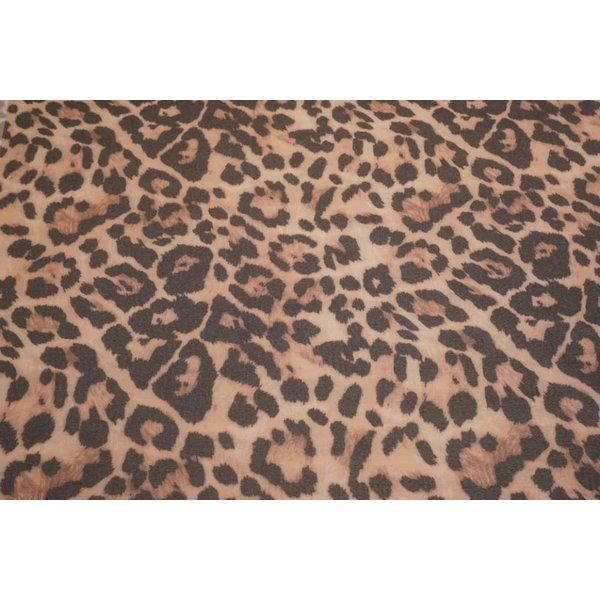 Cheetah stretchstof