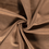 Scuba suede stof bruin