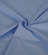 Popeline overhemdstof lichtblauw