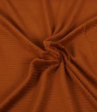 Jersey rib cognacbruin