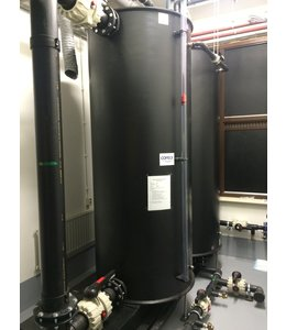 Sprinklertank at a fixed position