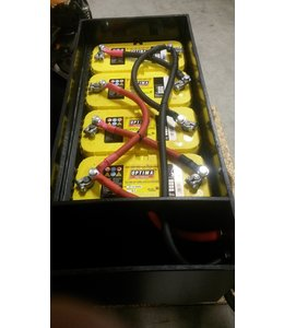 Traction battery boxes