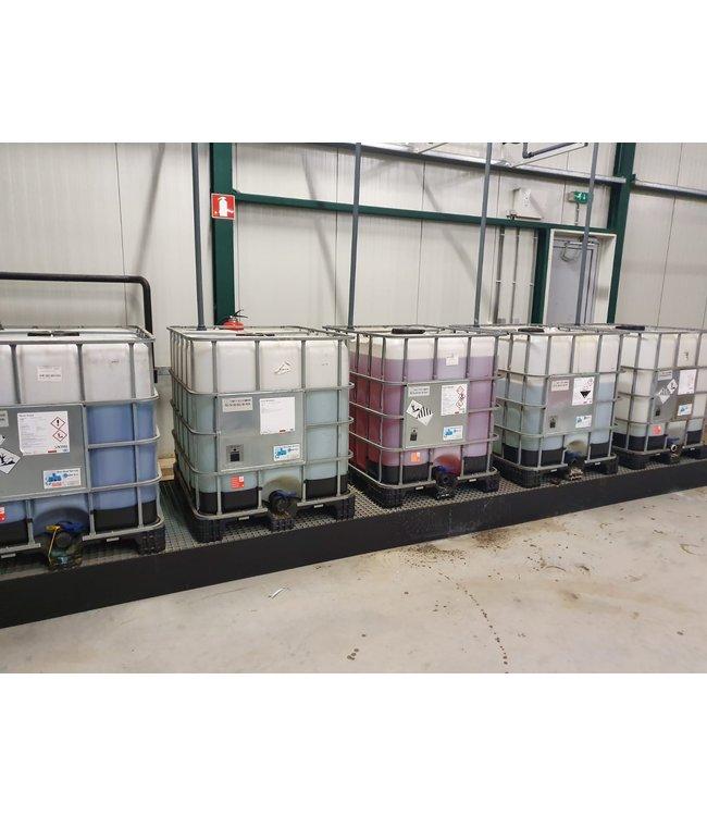 Vast assortiment opvangbakken voor IBC containers