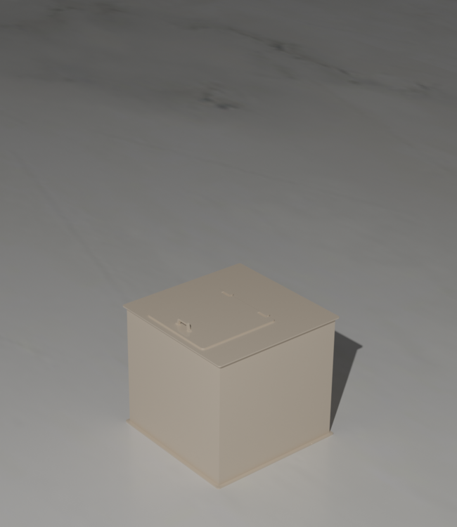 Vierkante en rechthoekige mixtanks