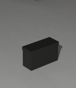 Batterybox for 1 battery