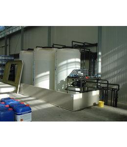 Double-walled for liquid fertilizer tanks