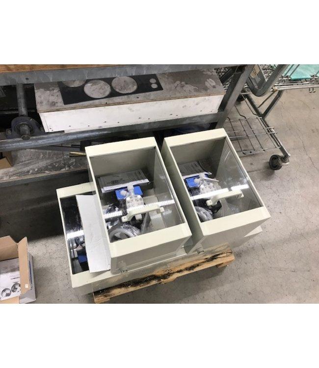 Fixed assortment dosingpump cabinets