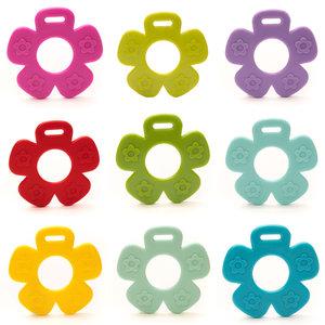Durable Bijtring Bloem (kies je kleur)